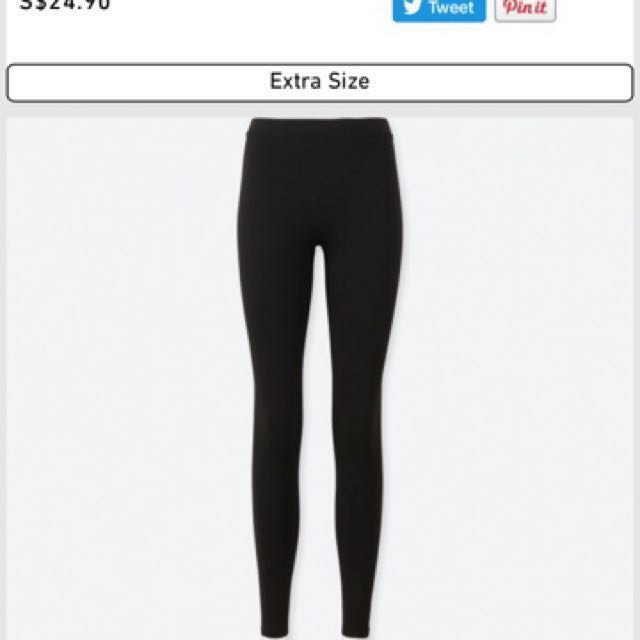 4f51b85b22b14 Uniqlo HEATTECH extra warm leggings, Women's Fashion, Clothes, Others on  Carousell