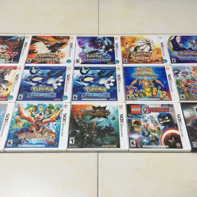 Used US/ASIA and JPN 3DS Games from RM40!!