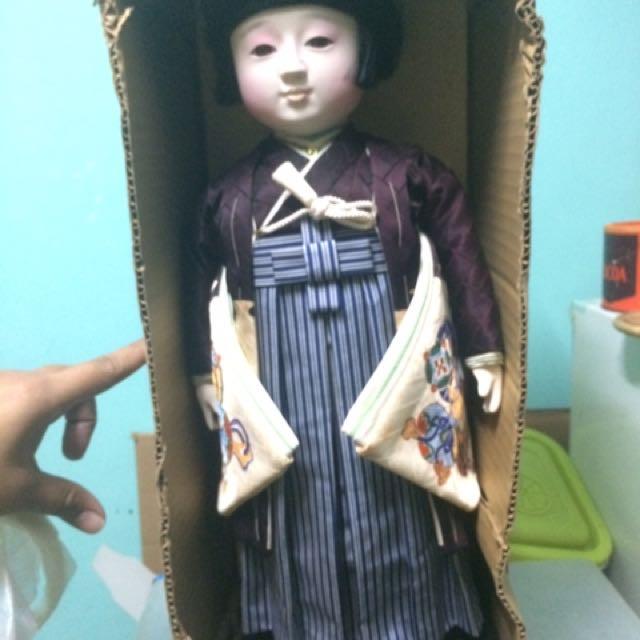 Vintage Ichimatsu Japanese Doll