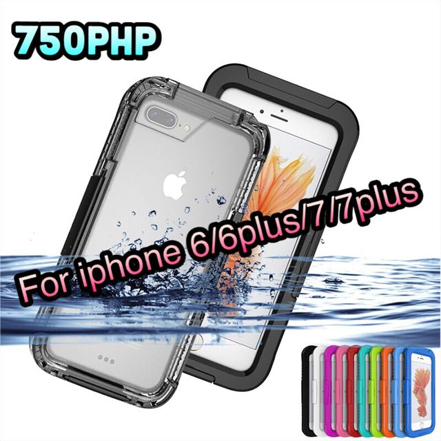 WATERPROOF SHOCKPROOF CASES FOR IPHONE
