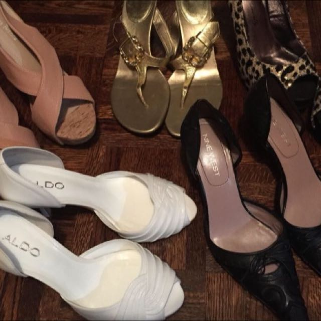 Women's Heels Nude Heels Brand New Size 8 Sizes Range From 6.5 To 8 Take All For $40