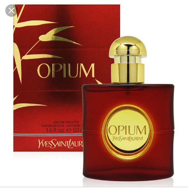 YSL opium 鴉片女性淡香水 50ml🧡