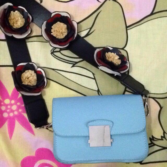 Zara Bag Flower (tas Zara)