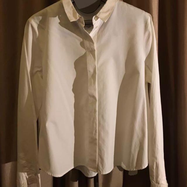 ZARA! White shirt size M