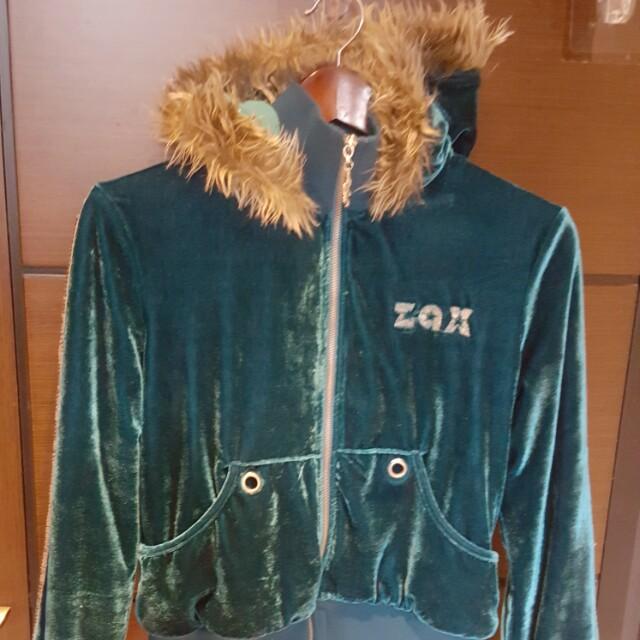 ZAX短版刷毛外套