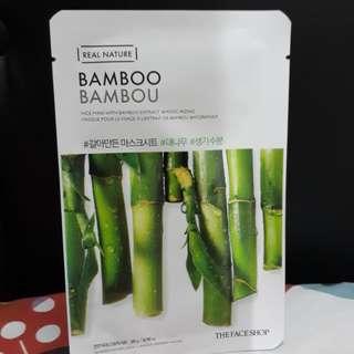 SHEET MASK BAMBOO