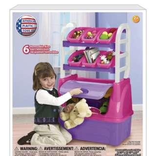 Plastic Toys Inc Toy Organizer Playset