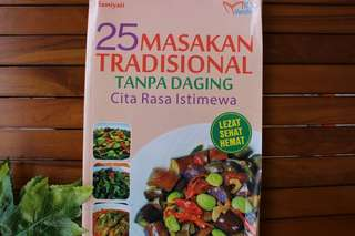 25 Resep Masakan Tradisional tanpa Daging cita rasa nusantara
