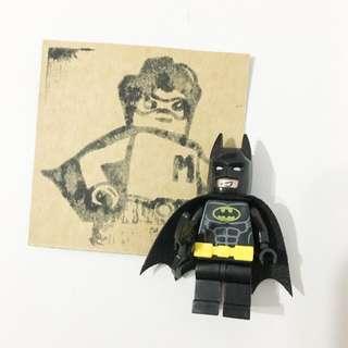 Miniman手作飾品 蝙蝠俠經典款積木人偶