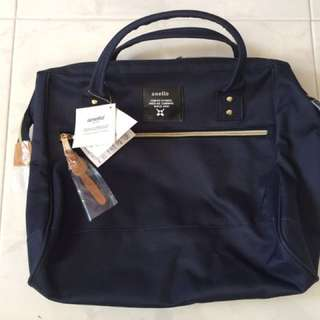 Anello Shoulder Bag (Dark Blue)