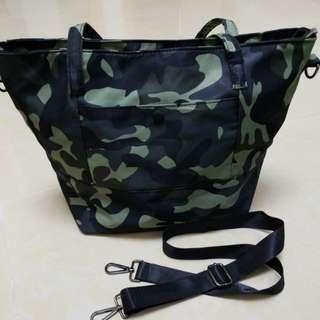 軍色袋,新淨43·32cm