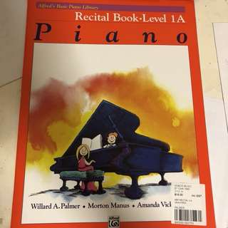 Brand new Alfred Recital Book 1A