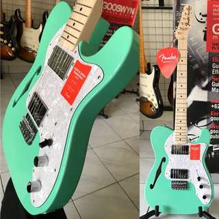 FENDER JAPAN TRADITIONAL '70S TELECASTER THINLINE SURF GREEN