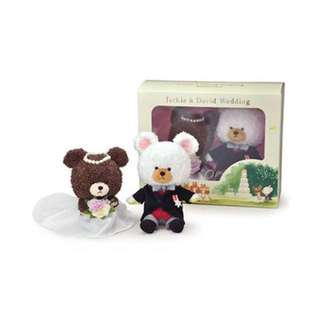 the bear school 小熊學校 - 結婚公仔禮盒