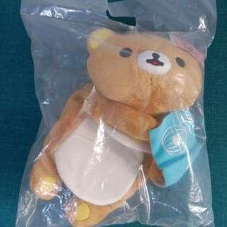 🚚 [有官方圖] 愛看書拉拉熊 懶懶熊 面紙套 衛生紙盒套