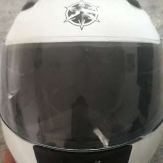 RYO fullfaced helmet *worn once*