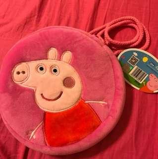 🚚 佩佩豬圓形小包