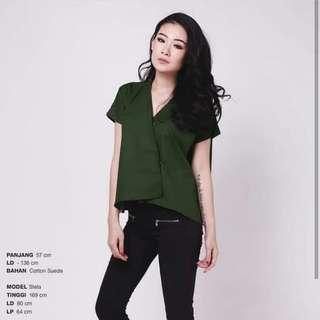 beatrice top blouse atasan wanita