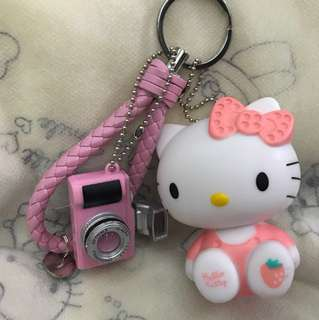 Hello kitty bag charm
