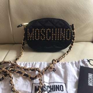 19x13x5cm 全新Moschino stud bag