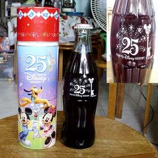 可口可樂東京迪士尼渡假村25週年紀念樽一枝