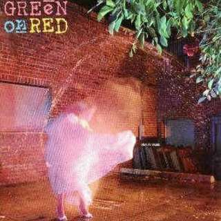 arthlp GREEN ON RED Gravity Talks LP Vinyl Record