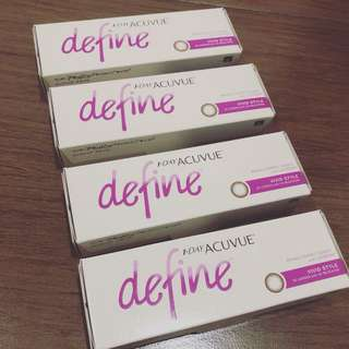Acuvue daily softlens minus 3,75