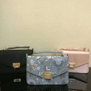 Charles and Keith Blue Bag