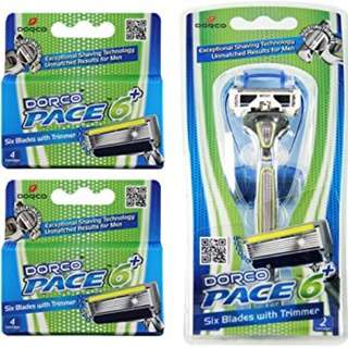 Dorco Pace 6 Plus (Starter Kit or Cartridges only available)