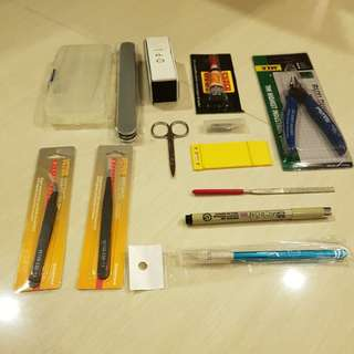 Gundam tool kit (budget start up tools)