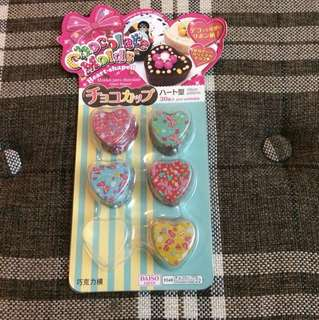 Heart-shaped Chocolate Molds 心型朱古力/巧克力模具
