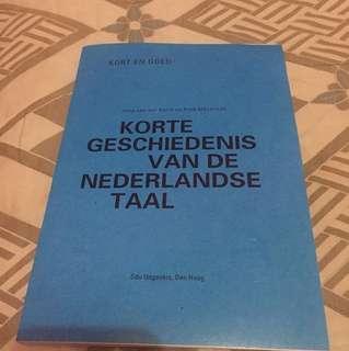 Korte geschiedenis van de nederlandse taal