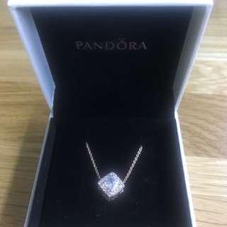 Pandora 玫瑰金項鍊