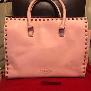 VALENTINO leather bag <100% authentic>