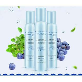 BIOAQUA Fountain spray blueberry