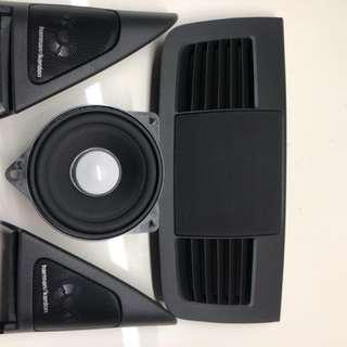 BMW e92 原廠h/k高音、中置喇叭(含中置網罩)