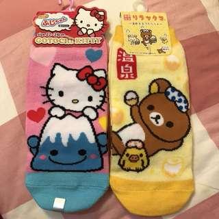 🚚 hello kitty 拉拉熊短襪🧦