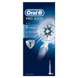 Braun 百靈 Oral-B Oral B Pro 2000 P2000 電動牙刷 (藍色)