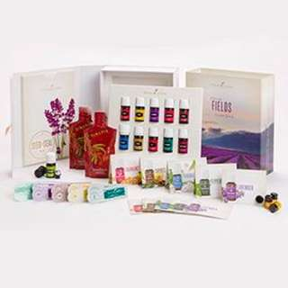 13 essential oils in premium starter kit by young living