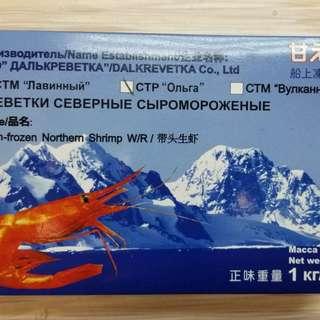 俄羅斯甜蝦刺身1kg(50-60隻)