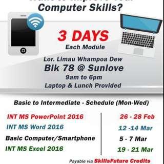 IT Course - For SG/PR