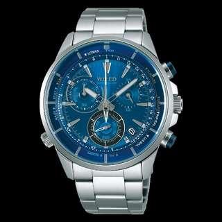 WIRED AGAW442 日水全新男裝石英手錶