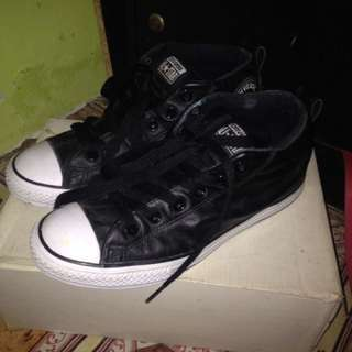 Converse chuk taylor black-white high