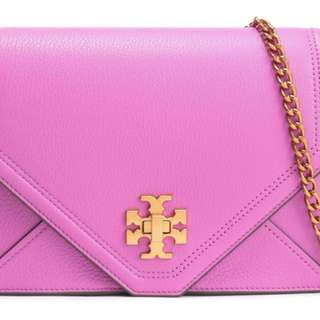 美國代訂TORY BURCH - Leather mini shoulder bag