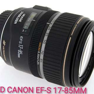 USED CANON EF-S 17-85MM F/4-5.6 IS USM LENS