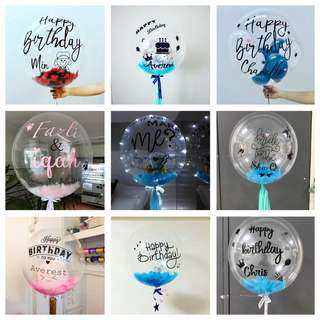 "24"" Customised Bubble Balloon"