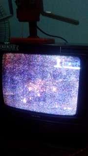 Tv sanyo merk jaman duluu
