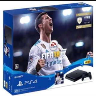 PS4 Bundle Fifa18