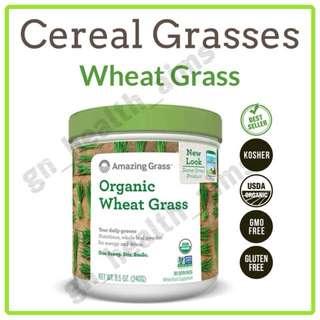 新裝 Amazing Grass 有機小麥草粉 Wheat Grass Powder 綠粉 排毒養顏 平衡酸鹼值 強化免疫力 $158