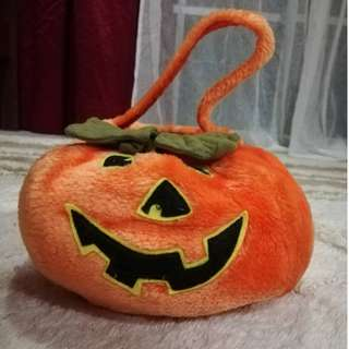 Halloween Cute Pumpkin Bag Soft Plush Toys